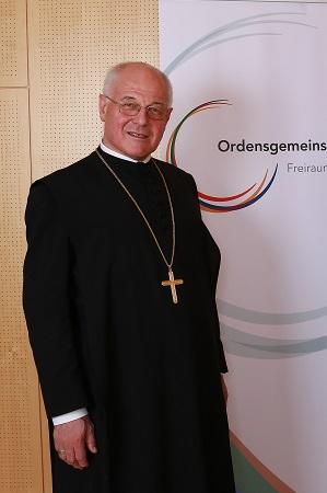 Abtpräses Christian Haidinger OSB