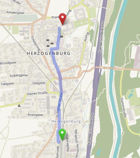 Karte Herzogenburg