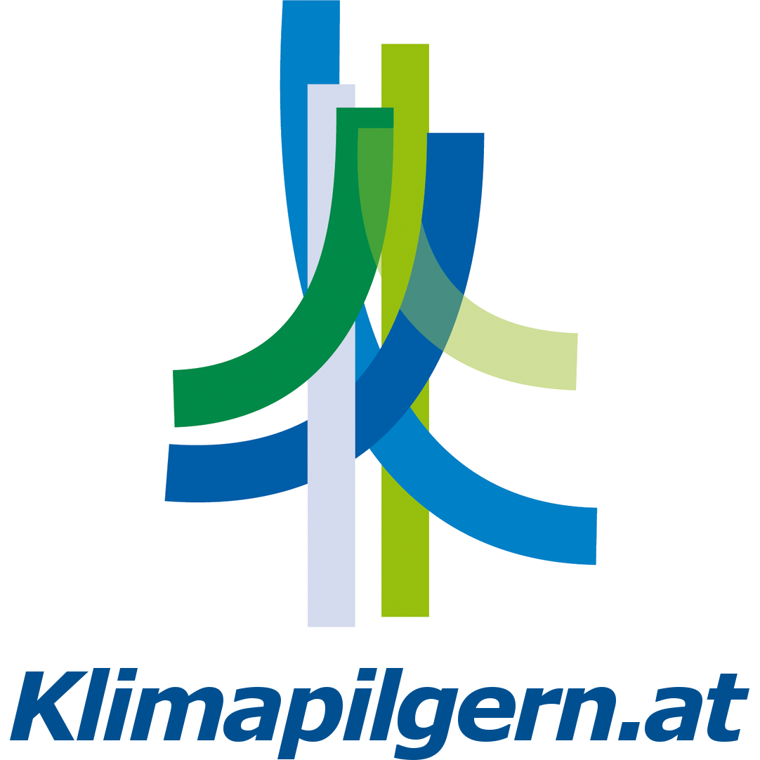 Logo Klimapilgern.at quadrat_weiß