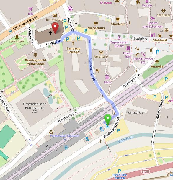 Purkersdorf Karte 1